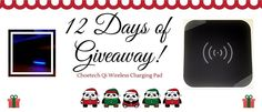 Participate and win a set of Choetech Qi Wireless Charging Pad