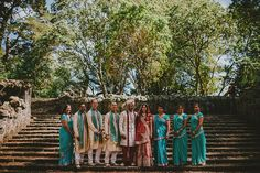 Bridal party - Hussila & Sameer, Auckland