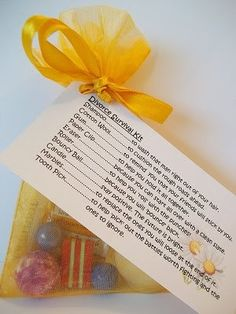 Divorce Survival Kit For Women Novelty Fun Gift/Card by Honeybeeblessings on Etsy similar to Message In a Box but on a smaller scale Diy Gifts, Best Gifts, Remedies For Glowing Skin, Survival Tattoo, Divorce Party, Survival Supplies, Survival Kits, Thing 1, Unique Cards