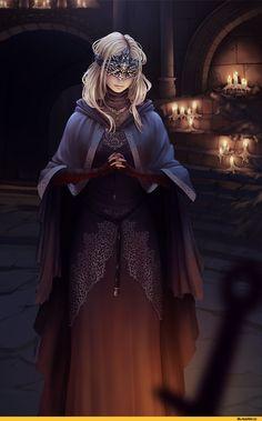 Dark Souls,фэндомы,Fire keeper,DSIII персонажи,Dark Souls 3,Rafa ArSen