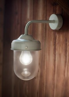 Barn Lamp is a stylish, durable outdoor garden wall light, ideal for a porch, garage or shed.
