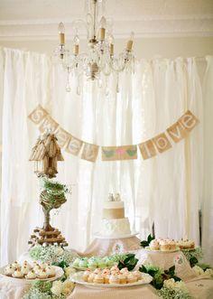 Rustic wedding decor | Photo by Jeremy Harwell | 100 Layer Cake