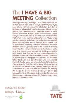 Tate Modern: I Have A Big Meeting Collection
