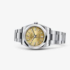 Oyster Perpetual, Oyster Perpetual Date e Lady Oyster Perpetual são as versões modernas de um dos relógios mais famosos da história da relojoaria.