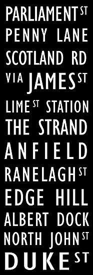 Tram Scroll Liverpool
