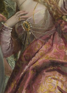 Happy Union by Paolo Veronese, c. 1575 #Art #Detail