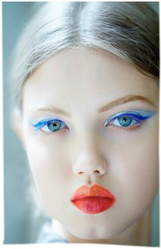 Christian Dior, Haute Couture show, makeup by Pat McGrath.