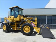 Check equipment details and quote for AL948E 14T Wheel Loader at Melbourne, Australia – Call us +61 3 9706 4477