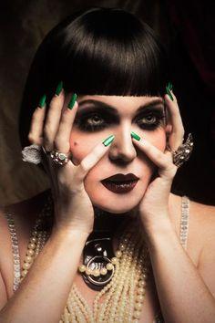OCC moderncraft 1920's cabaret makeup fall 2013