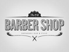The Old Barber Ship Espresso Bar & Food Logo by Chris Castro