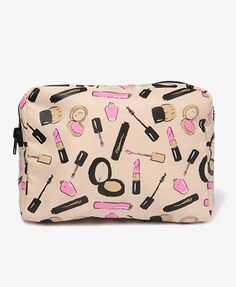 4feafc2147 lipstick print cosmetic bag Cos Bags