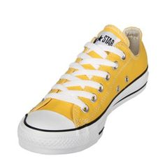 18a023eaebeb These Converse Chuck Taylor Seasonal OX shoes in Lemon Chrome are a great  colour for the