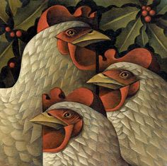 "The ""three French hens"" are the Three Persons in God or the three gifts of the Wise Men."