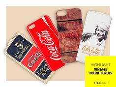 Ami il vintage? Scegli una delle nostre cover per cellulari Iphone, Samsung Galaxy, Blackberry firmate Coca Cola e Diesel. Un vero tocco stile senza tempo! http://titalola.click/cover-cellulari