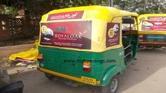 Auto Rickshaw Advertisement in Kolkata