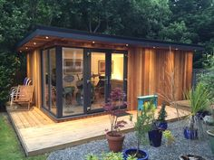 My Eco Space is the UK's premier supplier of Eco-friendly garden rooms. garden offices, garden gyms and garden studios to fit any size and budget. Garden Office Shed, Backyard Office, Outdoor Office, Backyard Studio, Backyard Sheds, Garden Lodge, Garden Cabins, Outdoor Garden Rooms, Outdoor Sheds