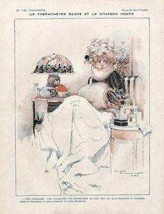 René Vincent (1879 – 1936). La Vie Parisienne. [Pinned 4-vi-2015]
