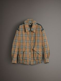 1d5a2df1fae8 Light and laid-back, this cotton gabardine Harrington jacket features our  Vintage check –