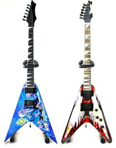 Miniature Guitar USA - Dave Mustaine Megadeth RUST in PEACE V and Angel of Death Set of 2 Miniature Guitar , $44.99 (http://stores.miniatureguitarusa.com/dave-mustaine-megadeth-rust-in-peace-v-and-angel-of-death-set-of-2-miniature-guitar/)