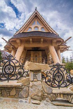 okna drewniane, drzwi, schody drewniane, okna góralskie « Podhale, Witów, Nowy Targ, Zakopane