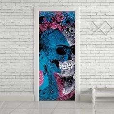Adesivo de porta frida kahlo - StickDecor | Decoração Criativa
