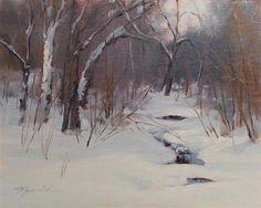 """Hidden Creek"" - Original Fine Art for Sale - © Barbara Jaenicke"