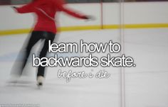 learn how to backwards skate