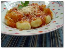 Nhoque de Mandioquinha com Molho de Tomates Sinceros