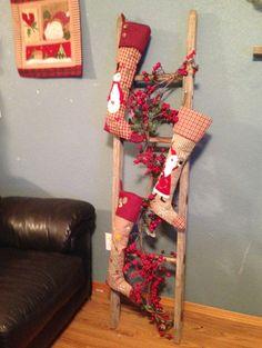 Christmas Stocking Ladder
