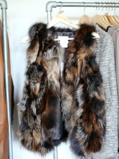 Fur gilet - winter clothes are the best clothes! Winter Wear, Autumn Winter Fashion, Winter Wardrobe, Dress Me Up, Playing Dress Up, Passion For Fashion, Dress To Impress, Winter Outfits, Style Me