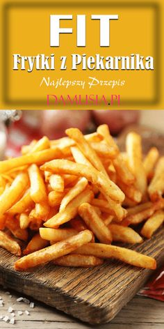 Fries In The Oven, Fries Oven, Cooking Recipes, Healthy Recipes, Wonderful Recipe, Potato Recipes, Clean Eating, Food And Drink, Lunch