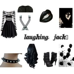 Laughing Jack, created by trueventuriangirl on Polyvore