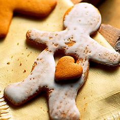 Pepparkakor. Christmas in Sweden might not arrive if these spiced cookies--in shapes of gingerbread folk, hearts, and the beloved Christmas pig--weren't on the scene. To follow the Swedish tradition, roll the cookie dough thinly.