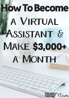 How would you like to earn extra cash each month from the comfort of your home? Yep, its possible and easier than you may think. Learn what a virtual assistant is, how to become a virtual assistant, and how being a virtual assistant can earn you a salary Work From Home Jobs, Make Money From Home, Way To Make Money, Make Money Online, Teach Online, Earn Extra Cash, Extra Money, Making Extra Cash, Big Money