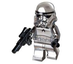 Lego Star Wars Minifigur 4591726 - Chrome Stormtrooper: Amazon.de: Spielzeug