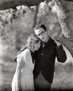 Jobyna Ralston and Harold Lloyd in Girl Shy (1924)