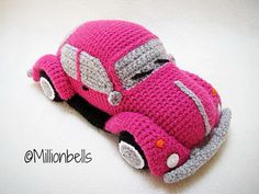 Crochet a VW Beetle Volkswagen Amigurumi – Such a Cute Bug! Crochet a VW Beetle Volkswagen Amigurumi – Such a Cute Bug! Crochet Car, Crochet Dolls, Amigurumi Patterns, Crochet Patterns, Crochet Phone Cases, Crochet Mobile, Bobble Stitch, Crochet Hook Sizes, Single Crochet