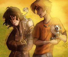 Nico di Angelo and Will Solace