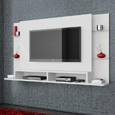 Painel Home Theater Suspenso Malbec - Submarino.com