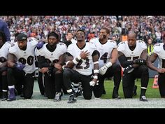 President Trump Comments Make Group of Ravens players Kneel | Today Latest News