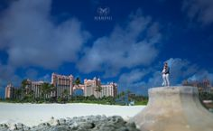 Experience an unforgettable wedding day with the ultimate wedding package in the Bahamas. Leave the planning to us when you book your package at Atlantis Paradise Island. Atlantis Bahamas, Miami Wedding Photographer, Paradise Island, Amazing Destinations, Seattle Skyline, Wedding Pictures, Real Weddings, Wedding Day, Artist