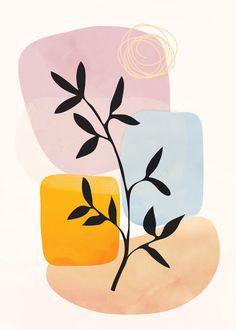 Abstract Shapes15 Art Print