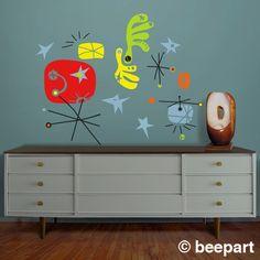 vinyl wall decal mural art make your own miro joan miro by beepart
