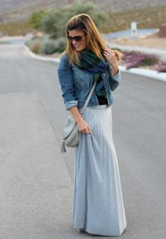 maxi dress in winter {marionberry style}