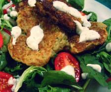 Cauliflower Fritters with Mint Yoghurt Dip | Official Thermomix Recipe Community