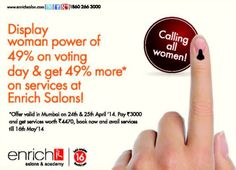 Power of 49% ! Your #vote just became even more valuable. Pls go out and vote tomorrow