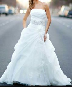 My styled wedding dress #sopretty