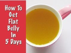 How To Get Flat Belly In 5 Days | Get Flat Stomach without Diet-Exercise | Instant Belly Fat Burner - YouTube