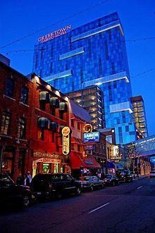 GreekTown Casino ~ Hotel Casino hotel skyscraper in Greektown 555 East Lafayette Detroit, Michigan