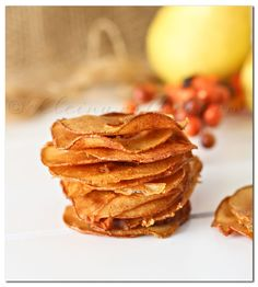 Cinnamon Pear Chips - I have GOT to make these!!
